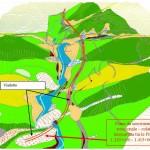 carta geomorfologica 3D