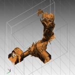rilievo laser scanner del fusoide