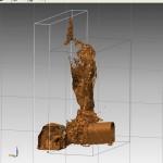 rilievo laser scanner del fusoide Mesch
