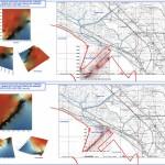 carta del'evoluzione geomorfologica della costa