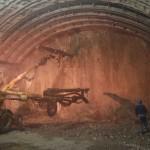 assistenza all'avanzamento del fronte di scavo