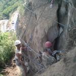 consolidamento costone e protezione dalla caduta massi