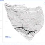 planimetria a curve di livello