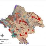 carta geomorfologica