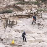 ispezione e disgaggio con rocciatori
