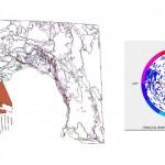 Analisi delle principali discontinuità dell'ammasso roccioso (K2)
