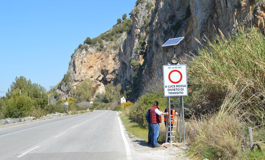 monitoraggio geotecnico in Early Warning