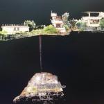 Nuvola di punti combinata LTS Riegl + drone Italdron