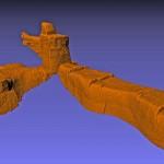 rilievo laser scanner cavità ipogea Ventotene