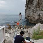 rilievo laser scanner per consolidamento costonePiano di Sorrento