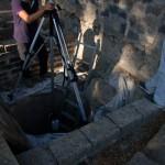 Leica RTC360 in assetto copovolto per i rilievi LTS delle cisterne degli Scavi Pompei