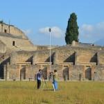 Rilievo LST Scavi Pompei
