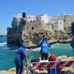 Monitoraggio Falesia Red Bull Cliff Diving di Polignano a Mare