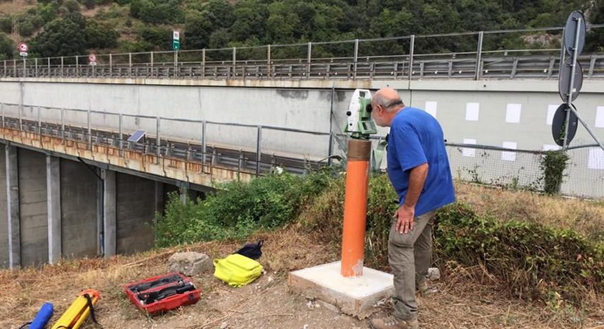 monitoraggio geotecnico