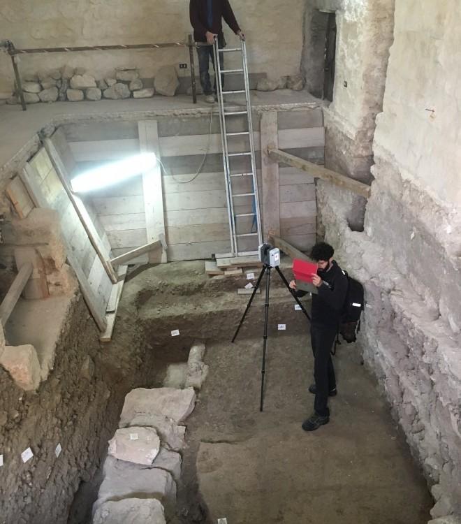 Rilievi laser scanner Castello di Taranto