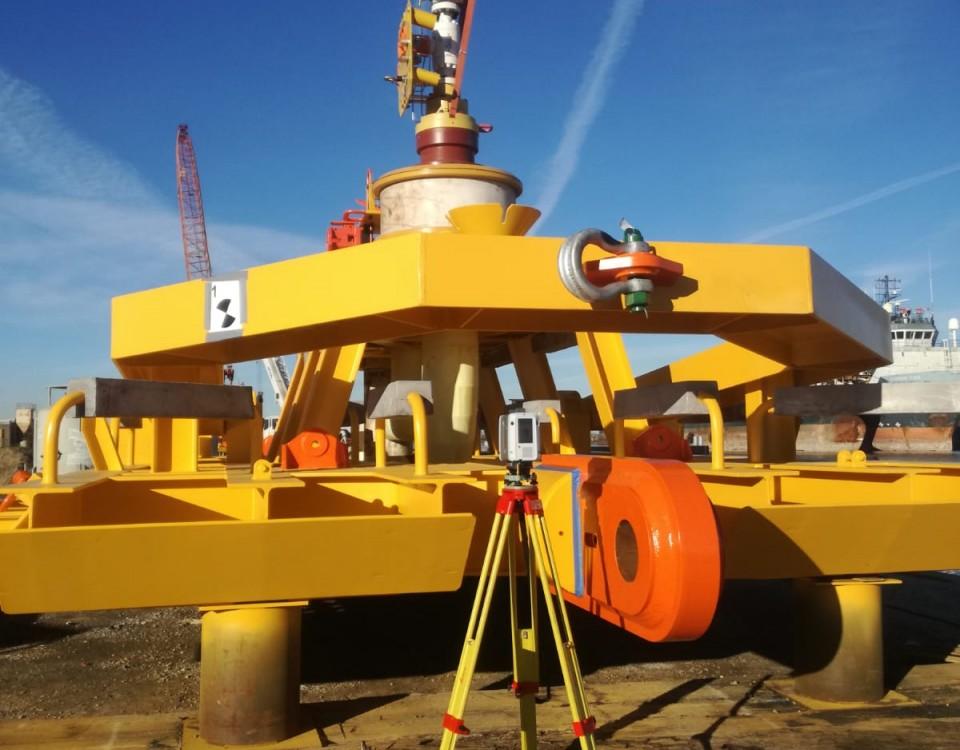 rilievi laser scanner impianti industriali