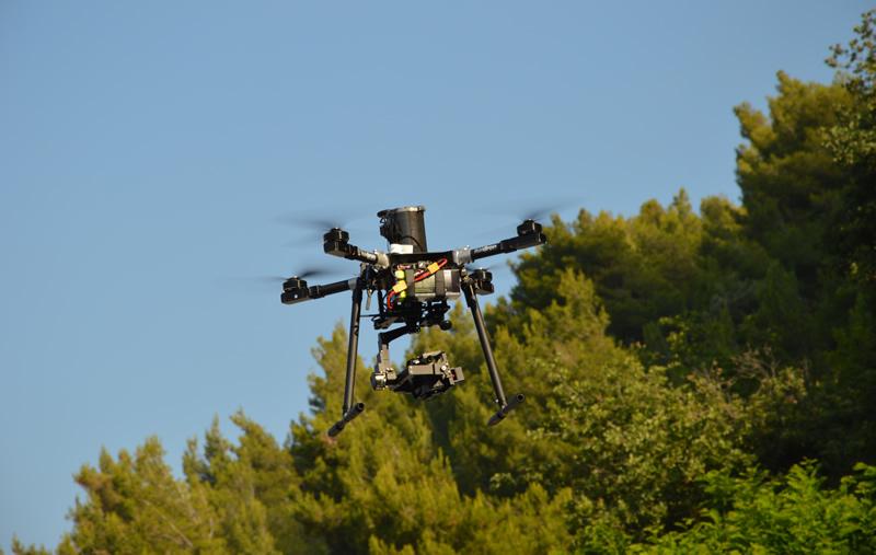 Volo con UAV professionale Italdron